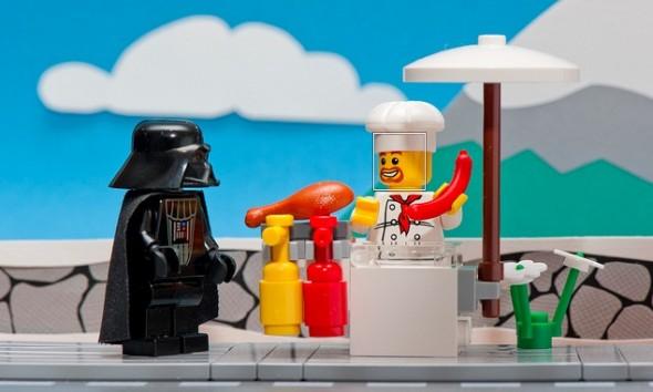 darth vader vendor lego