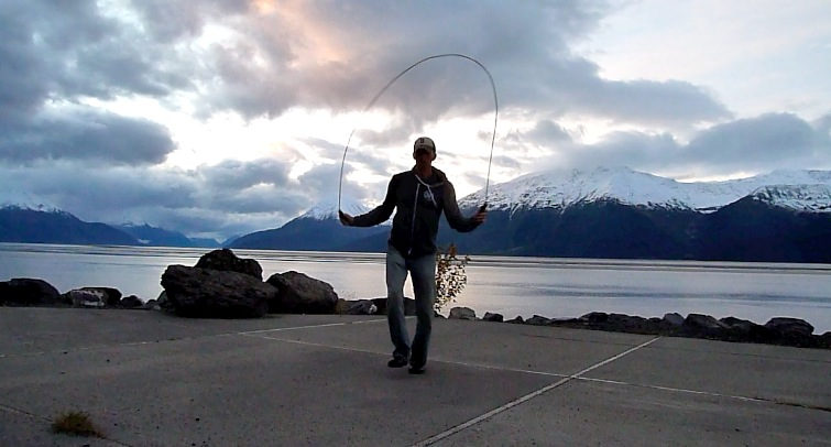 Steve Jumping Rope in Alaska