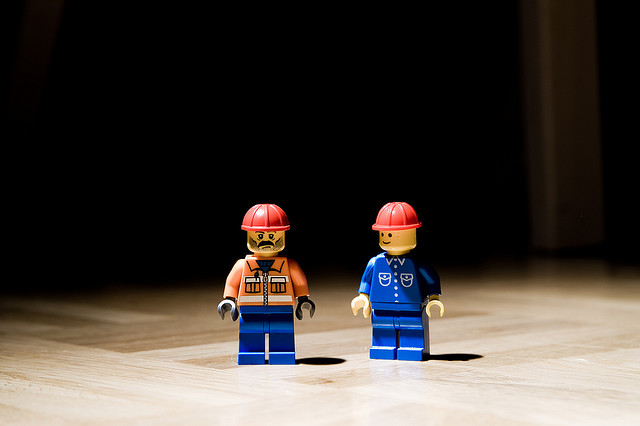 lego guys in hard hats
