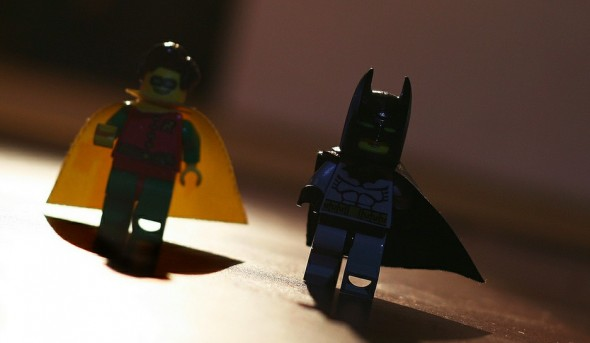 Batman and Robin Lego Characters