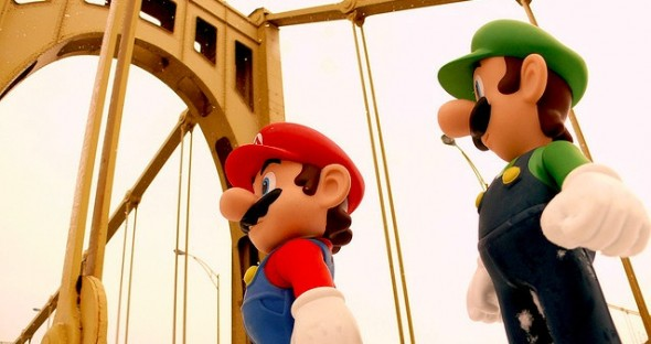 Mario and Luigi Workout Partners