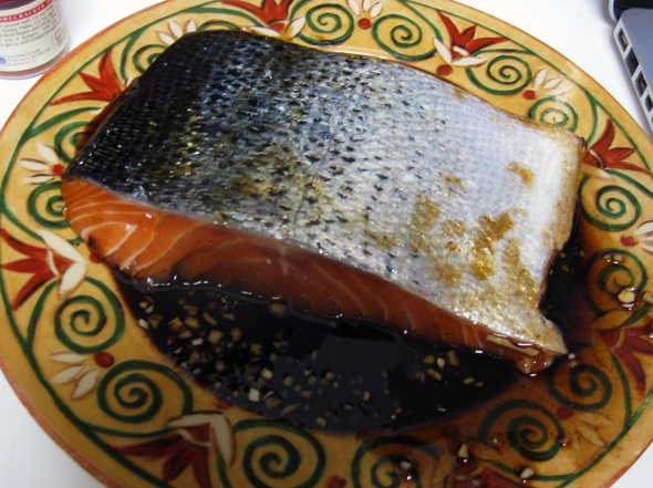 Honey Soy Sauce Salmon Marinade