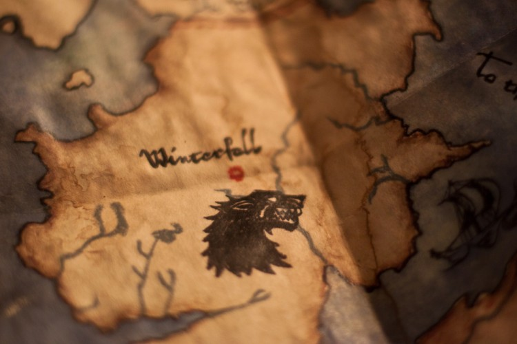 Winterfell Map