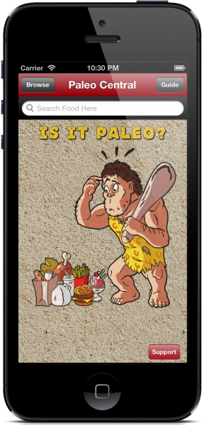 Paleo Central for iPhone