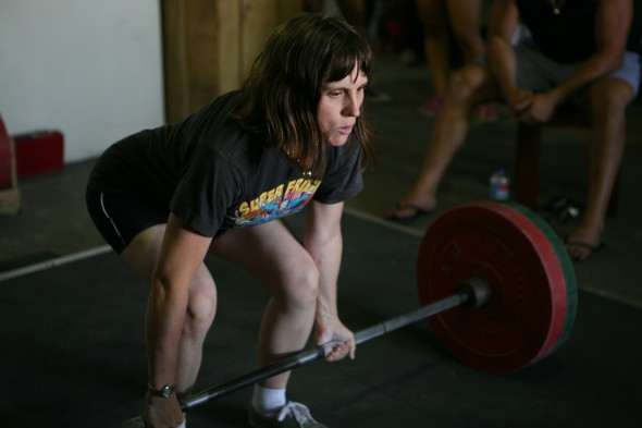 Athena Deadlift