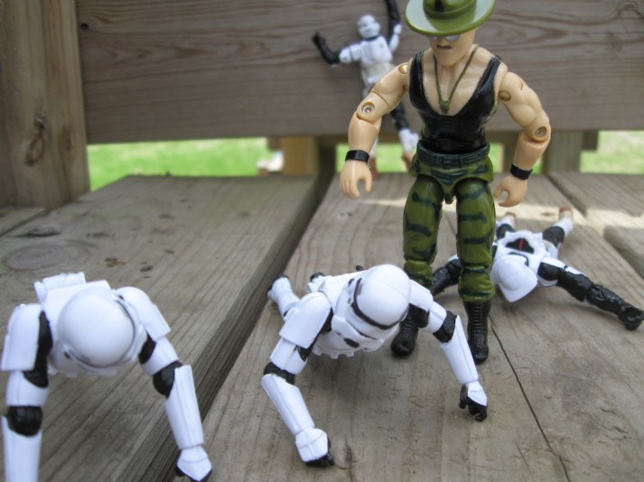 stormtrooper pushups